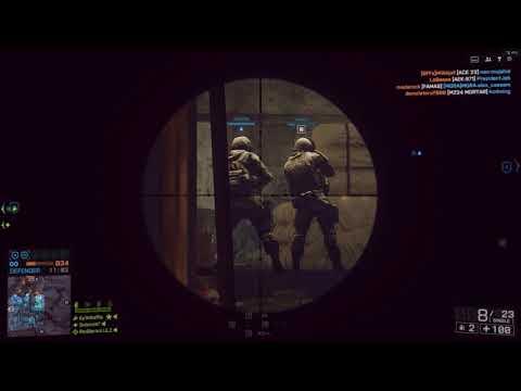 Battlefield 4: Locker - Recon - Game Play- ASUS RoG Laptop