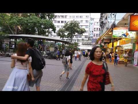 【Hong Kong Walk Tour】Tai Po @ Saturday 16:30 Tai Wo → Tai Po Market (Part 2)