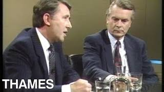 British Politics   SDP Leaders   David Steel and David Owen Interview   This Week