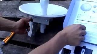Установка радиомоста NanoBridge M5 22(, 2012-06-30T12:33:03.000Z)