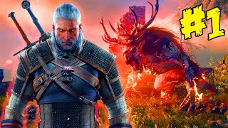 The Witcher 3 Wild Hunt Gameplay PS4 Part 1 - Witcher 3 Walkthrough With Commentary (Gameplay)