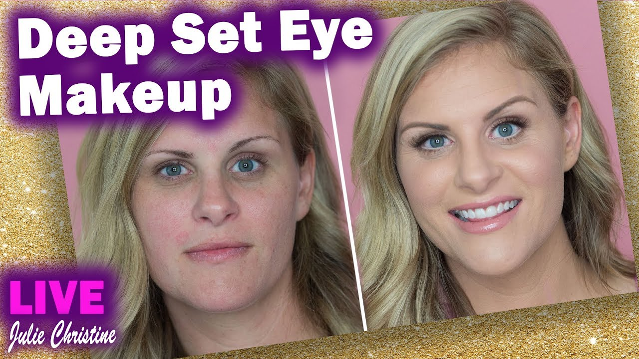 Full Face Client Makeup On Deep Set Eyes Tips To Make Eyes Look