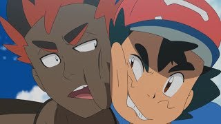 A Heated Rivalry: Ash & Kiawe | Pokémon the Series: Sun & Moon—Ultra Legends | Official Clip