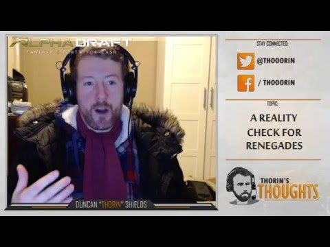 Thorin's Thoughts - A Reality Check for Renegades (CS:GO)