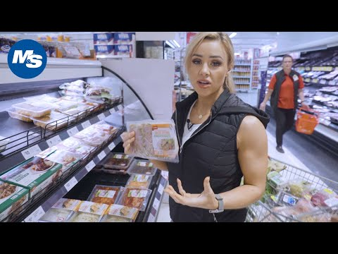 Grocery Shopping with Powerlifters   Stephanie Sanzo's 🇦🇺 Australia Edition 🇦🇺