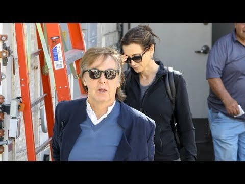 Paul McCartney Is Asked If He Still Misses John Lennon While Lunching With Nancy Shevell In LA