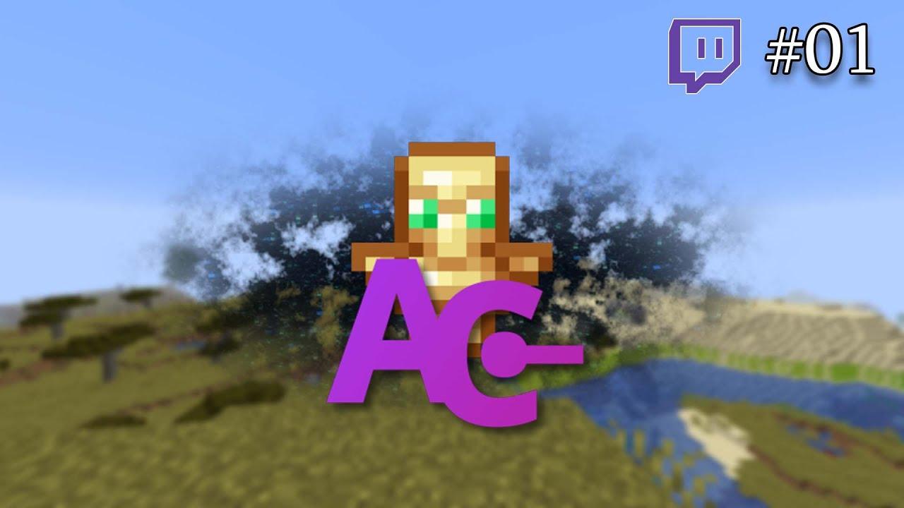 Wir starten ins Projekt! | MC: AdventureCraft | #01