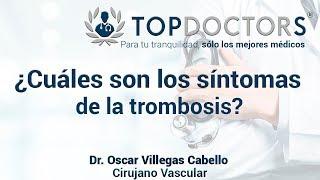 Pierna trombosis sintomas de