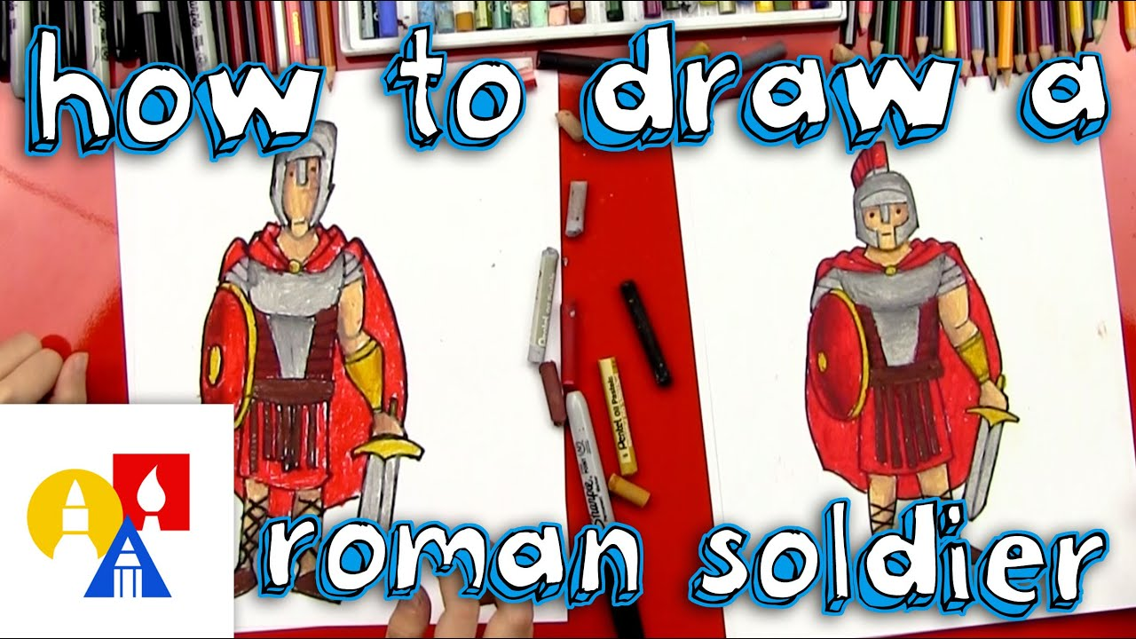 How To Draw A Roman Soldier YouTube - 8 fun activities for kids in rome