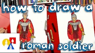 Guy draw army How a to