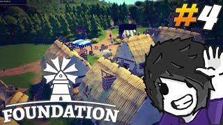 Foundation Gameplay - a bit of a Gold Shortage - Ep 4