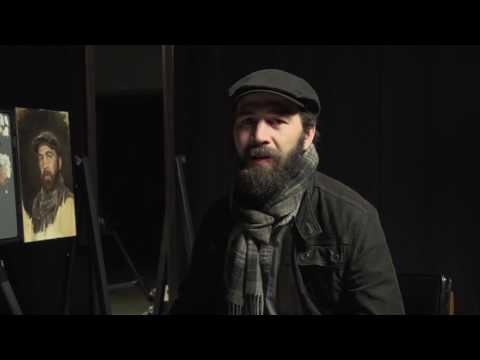 """Gregory Mortenson on his """"Realistic Self Portraits"""" Instructional DVD"""