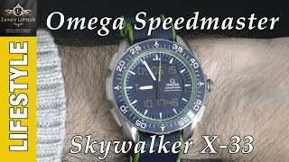 Omega Speedmaster Skywalker X-33 Solar Impulse Limited Edition Watch • Luxury Lifestyle Channel