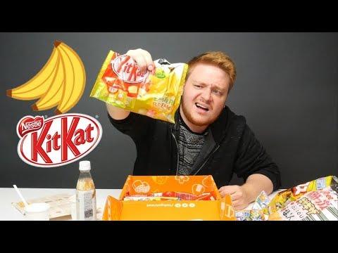 Sopiiko banaanin maku KitKattiin!?