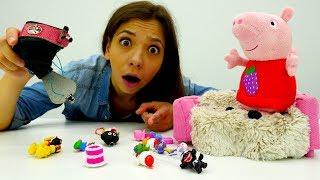 Свинка Пеппа - Пеппа в Магазині іграшок - Готуємося до школи