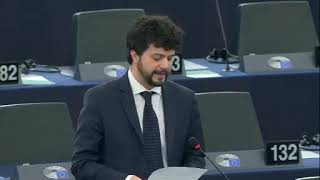 Intervento in aula di Brando Benifei sulla lotta all'antisemitismo, al razzismo e all'incitamento all'odio in Europa