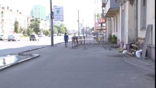 На Лежневской в Иванове начали ремонтировать балкон
