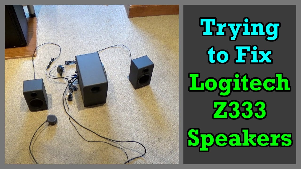 Trying to Fix My Logitech Z8 8.8 Speakers (One Speaker is louder Than the  Other)