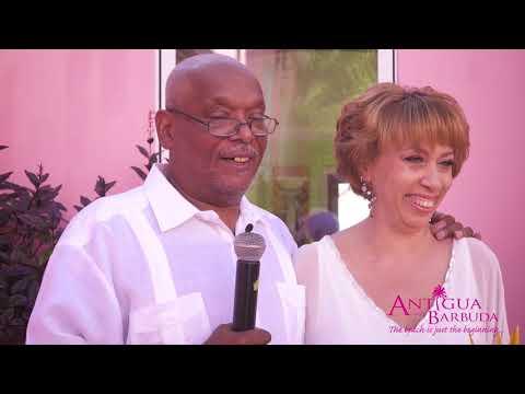 Kim & Mark's 25th Anniversary Vow Renewal in Antigua