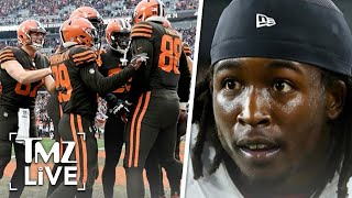 NFL Team Signs Kareem Hunt After He Was Cut For Beating A Woman | TMZ Live