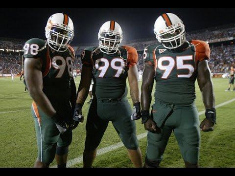 D-Line U || The Best Defensive Linemen in Miami Hurricanes History