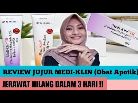 REVIEW JUJUR *Medi-Klin* Obat Jerawat Ampuh || JERAWAT ...