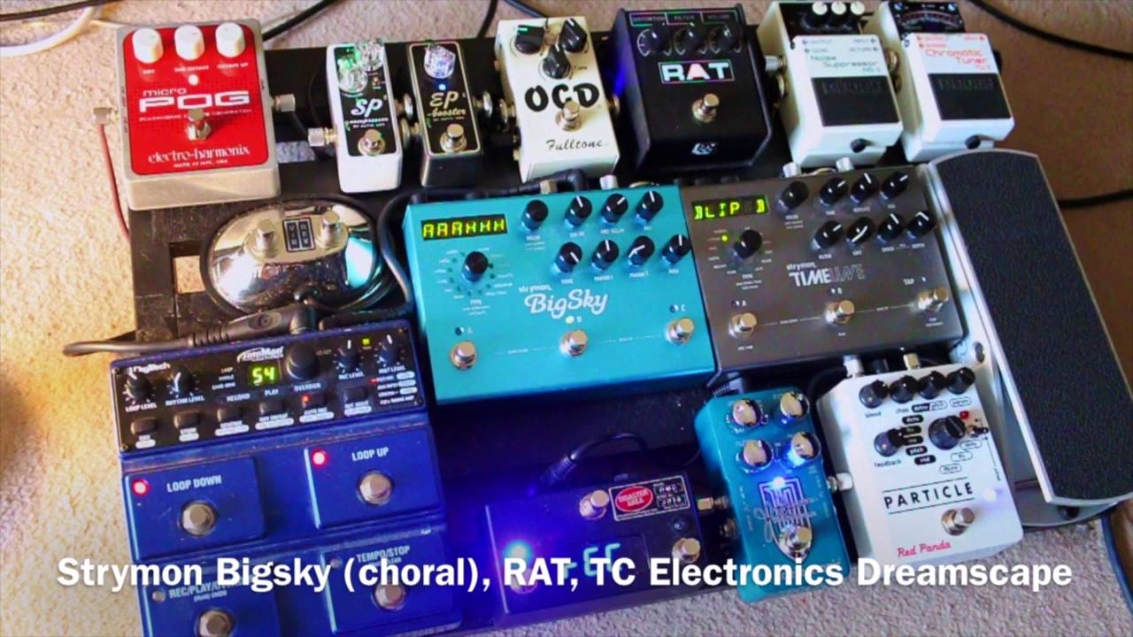 Ambient Guitar Pedals : post rock ambient guitar pedals pedalboard disaster area dmc 3 reverse octave effect youtube ~ Russianpoet.info Haus und Dekorationen