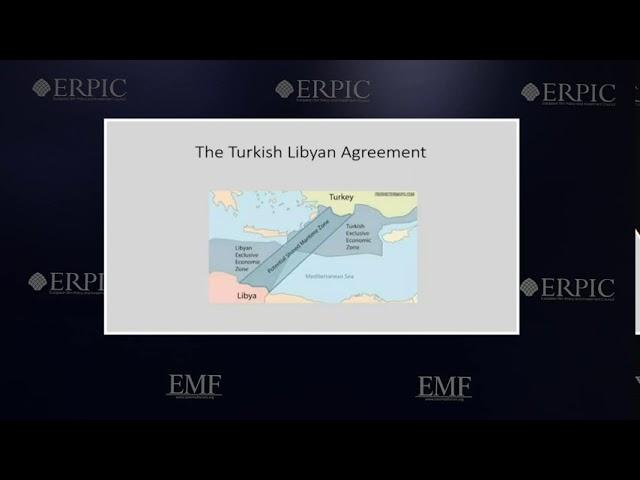 Delimitation of EEZ in the Eastern Medierranean Sea