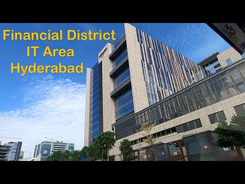 Financial District - Buildings / Hotels / IT Area / Wipro Circle / Amazon / Honeywell / Microsoft