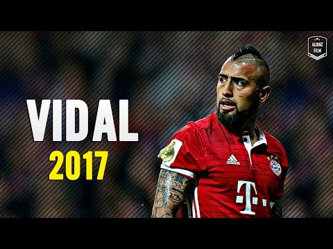 Arturo Vidal - Crazy Defensive Skills x Goals 2017 | HD