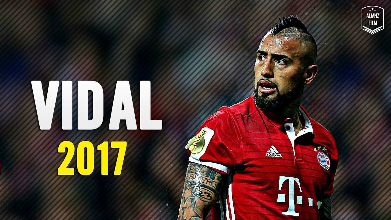 Download Arturo Vidal - Crazy Defensive Skills x Goals 2017 | HD