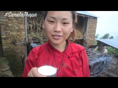 Nepali Village Life with Sarala Thapa   Part 1\ MULABARI TANAHUN NEPAL