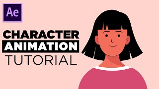 Character Facial Animation Tut๐rial in After Effects - No Third Party Plugin