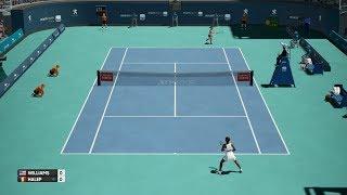AO International Tennis - Venus Williams vs Simona Halep - PS4 Gameplay