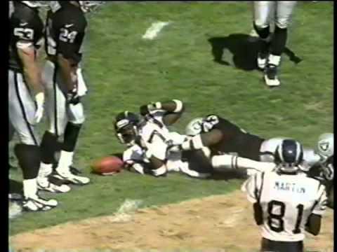 Chargers vs. Raiders, 1996