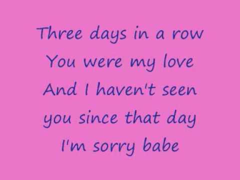 Anouk - Three Days In A Row with lyrics