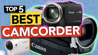 I own the #3 on list but after reviewing all camcorders out there, #1 is darn good too! ► links to top 5 best video cameras listed in ✅...