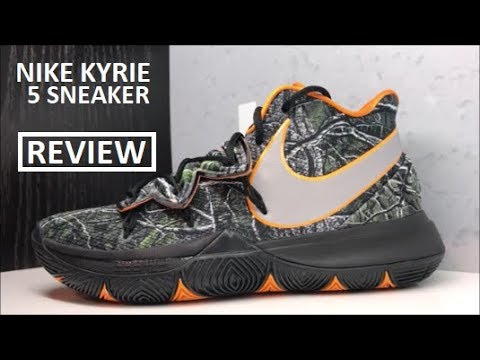 5810d10a88ea NIKE KYRIE IRVING 5 TACO PE SNEAKER DETAILED REVIEW  Kyrie5 - YouTube