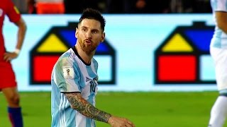 Lionel Messi vs Chile (Home) 16-17 HD 720p (23/03/2017) - English Commentary
