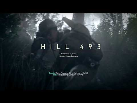 ▶ Call Of Duty WW2 - HILL 4 9 3, No Sacrifice Is Great ● 1080HD