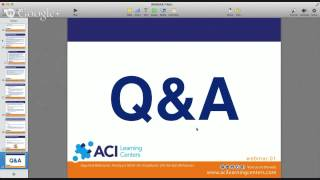 ACI Learning Centers FREE Webinar: Reducing Unwanted Behaviors