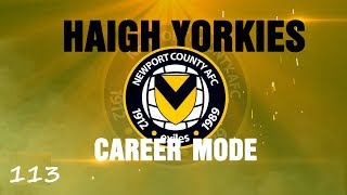 Fifa 14 - Career Mode Newport County - Part 113 - Much Ado About Hanson