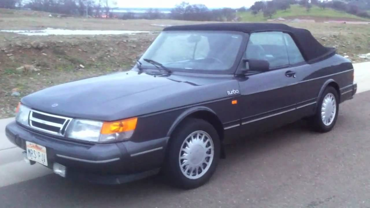 1987 saab turbo 900 convertable for sale youtube. Black Bedroom Furniture Sets. Home Design Ideas
