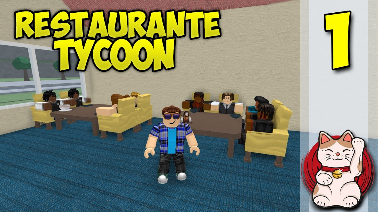 CHEF KRAOESP #1 - ROBLOX | RESTAURANT TYCOON - Roblox gameplay ...