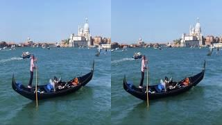 VR 3D фильмы - Венеция в 3D - Стерео ФОТО кино HDTV