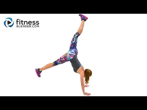 Butt and Thigh HIIT Cardio Workout to Banish Fat & Boost Energy