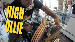 High Ollie Training With MAJER crew