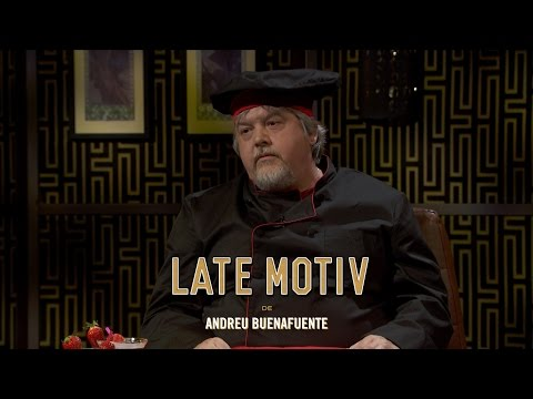 "LATE MOTIV - Javier Coronas. Chef de ""DisperXO"" 