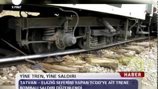 Kanal Fırat Haber - Yine Tren, Yine Saldırı