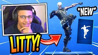 "MYTH REACTS TO *NEW* ""WORK IT OUT"" EMOTE/DANCE! *RARE* Fortnite SAVAGE & FUNNY Moments"